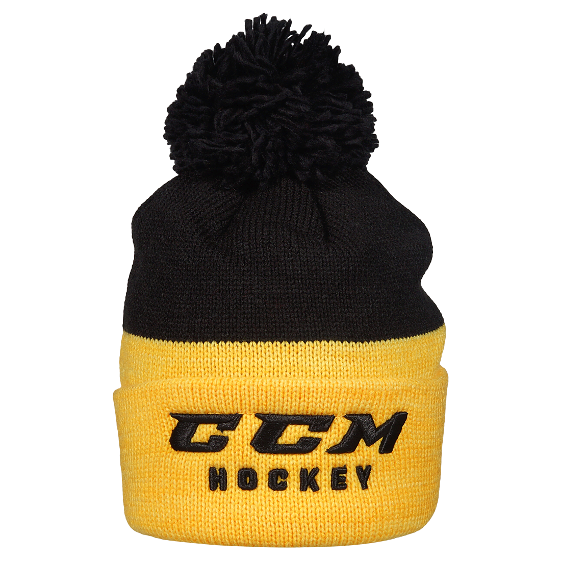 Шапка TRUE TO HOCKEY KNIT POM BLK