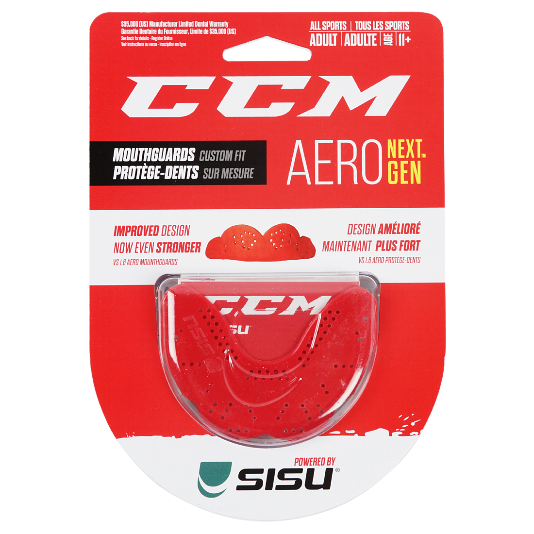 Капа CCM SISU Mouth Guard JR RD