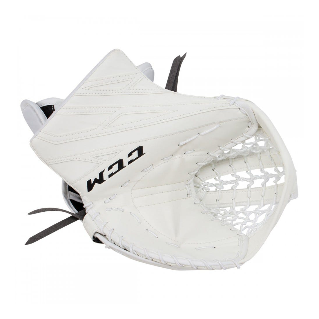 GME4.5 JR CCM EFX Prot Goalie Catcher White