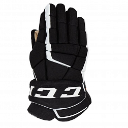 Перчатки игрока HG9060 SR CCM TACKS Prot Gloves Black/White