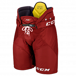Шорты игрока HPAS1 SR CCM TACKS Prot Pants Red