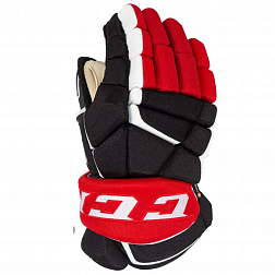 Перчатки игрока HG9080 SR CCM GLOVES Black/Red/White