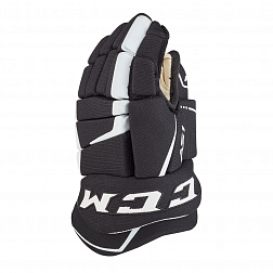 Перчатки игрока HGAS1 YT CCM TACKS Prot Gloves Black/White