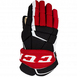 Перчатки игрока HG9060 SR CCM GLOVES Black/Red/White