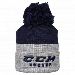 Шапка TRUE TO HOCKEY KNIT POM TNV