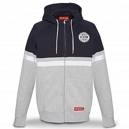 Толстовка F4750 CCM HERITAGE FULL ZIP HOODED FLEECE Nightfall