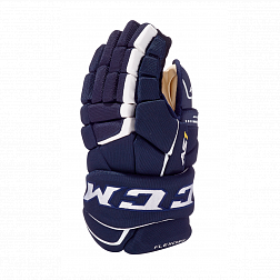 Перчатки игрока HGAS1 SR CCM TACKS Prot Gloves Navy/White