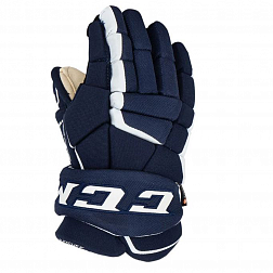 Перчатки игрока HG9060 JR CCM TACKS Prot Gloves Navy/White