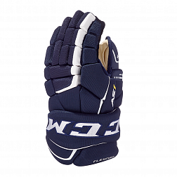 Перчатки игрока HGAS1 JR CCM TACKS Prot Gloves Navy/White