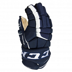 Перчатки игрока HG9080 SR CCM TACKS Prot Gloves Navy/White