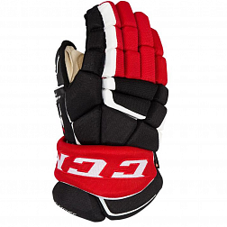 Перчатки игрока HGAS1 SR CCM GLOVES Black/Red/White