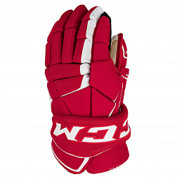 Перчатки игрока  HG9060 SR CCM TACKS Prot Gloves Red/White