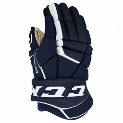 Перчатки игрока HG9040 SR CCM TACKS Prot Gloves Navy/White