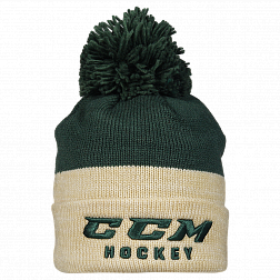 Шапка TRUE TO HOCKEY KNIT POM DGN